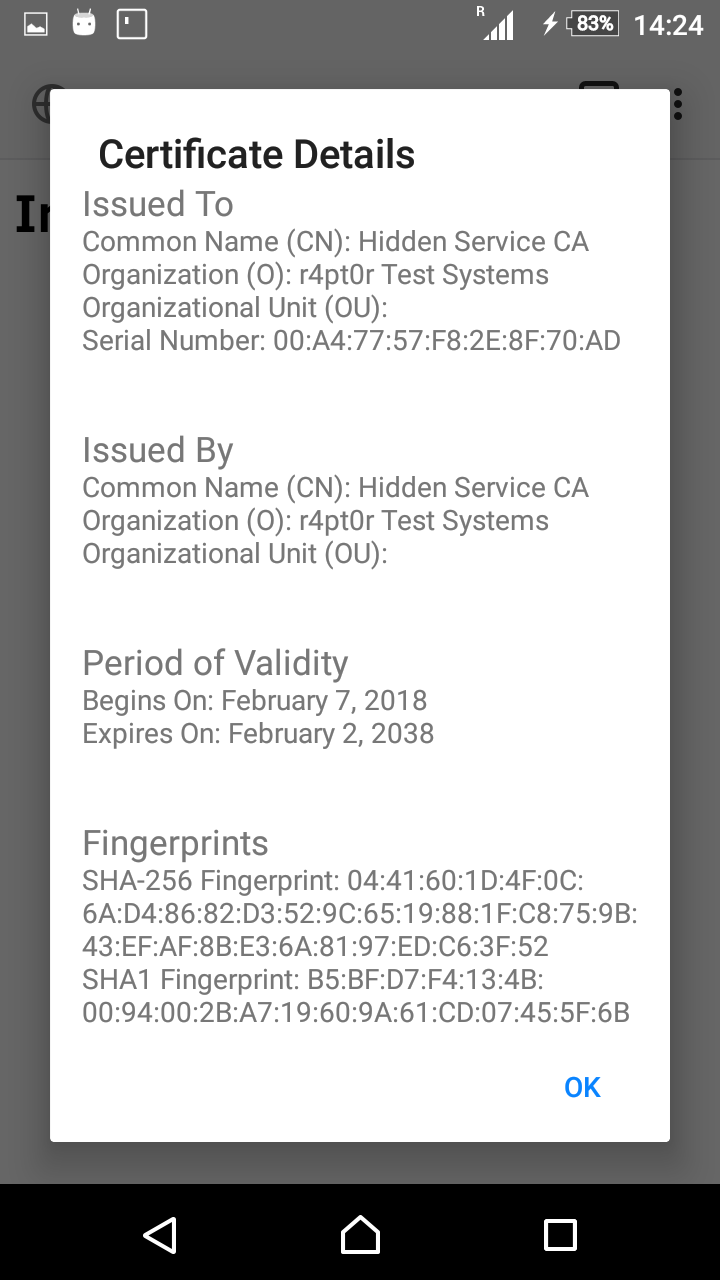 Setting up new v3 Hidden Service with ultimate security – re
