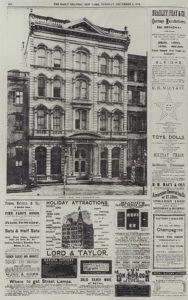 Steinway hall 1873