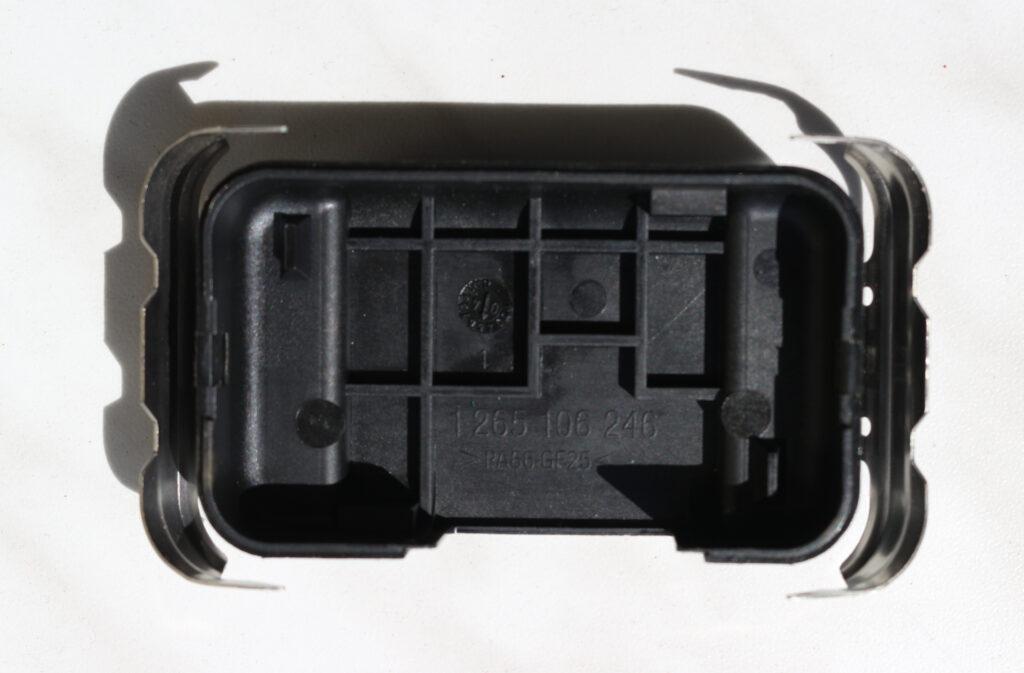 Peugeot 407 rain sensor back housing