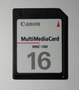 Canon SD MMC card 16 MiB