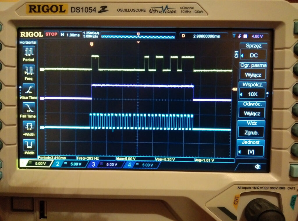 microwire read address 0 value 0x1337